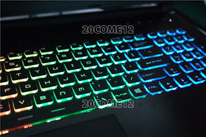 NEW For MSI GP62 7RDX GP62 7REX GP62M 7RDX keyboard US Color Backlit Crystal