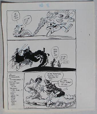 Air Pirates #1 High Resilience Original Dan O'neill Art Bucky Bug