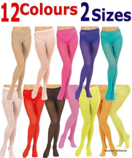 40 den Size 10-14 neon Bright Yellow Ladies Tights