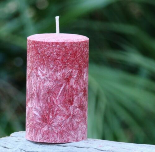 Lg 200 hour VANILLA LIME Handmade Scented Natural CANDLE GIFT Triple Scented