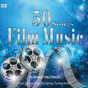 3-CD-50-Songs-Film-Music-Soundtracks-Film-Colonne-Sonore-Piano-Music