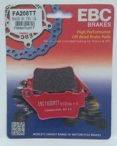 "KTM SXC 625 (2003 to 2004) EBC ""TT"" REAR Brake Pads (FA208TT) (1 Set)"