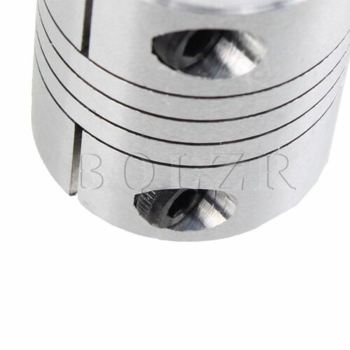 D25L30 CNC Motor Jaw Shaft Coupler 8mm To 12mm Flexible 8 x12mm Coupling Gadgets