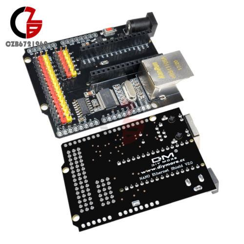 ENC28J60 Ethernet Shield V2.0 Network Module For Arduino UNO R3 Nano V3.0 CH340