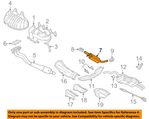 VW VOLKSWAGEN OEM 99-05 Jetta 2.0L-L4-Muffler 1J0253209N