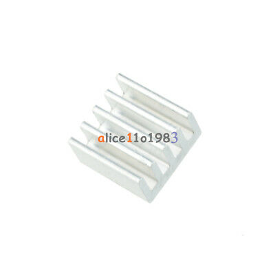 10PCS 8.8X8.8X5mm Heat Sink For Stepstick A4988 Chip Led Power Aluminum