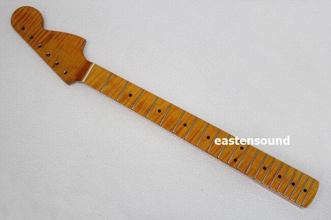 Neue Marke elektrische Flamme Ahorn Gitarrenhals