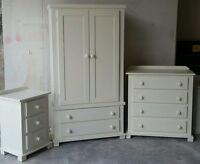 Handmade Arizona Classic (ivory) 3 Piece Bedroom Set Not Flat-pack
