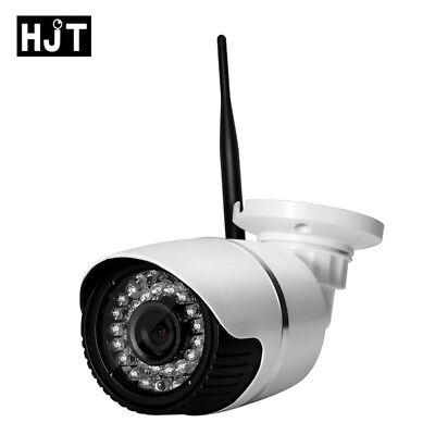 HJT 720P IP Camera TF Card Slot HD Network Indoor Security 24IR Night P2P Mobile