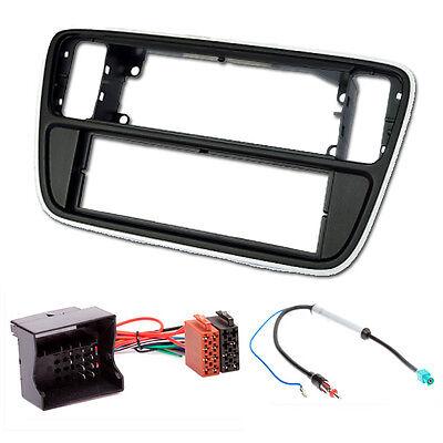 CARAV 11-312-25-8 DIN Radioblende Einbauset für VW up! SKODA Citigo SEAT Mii