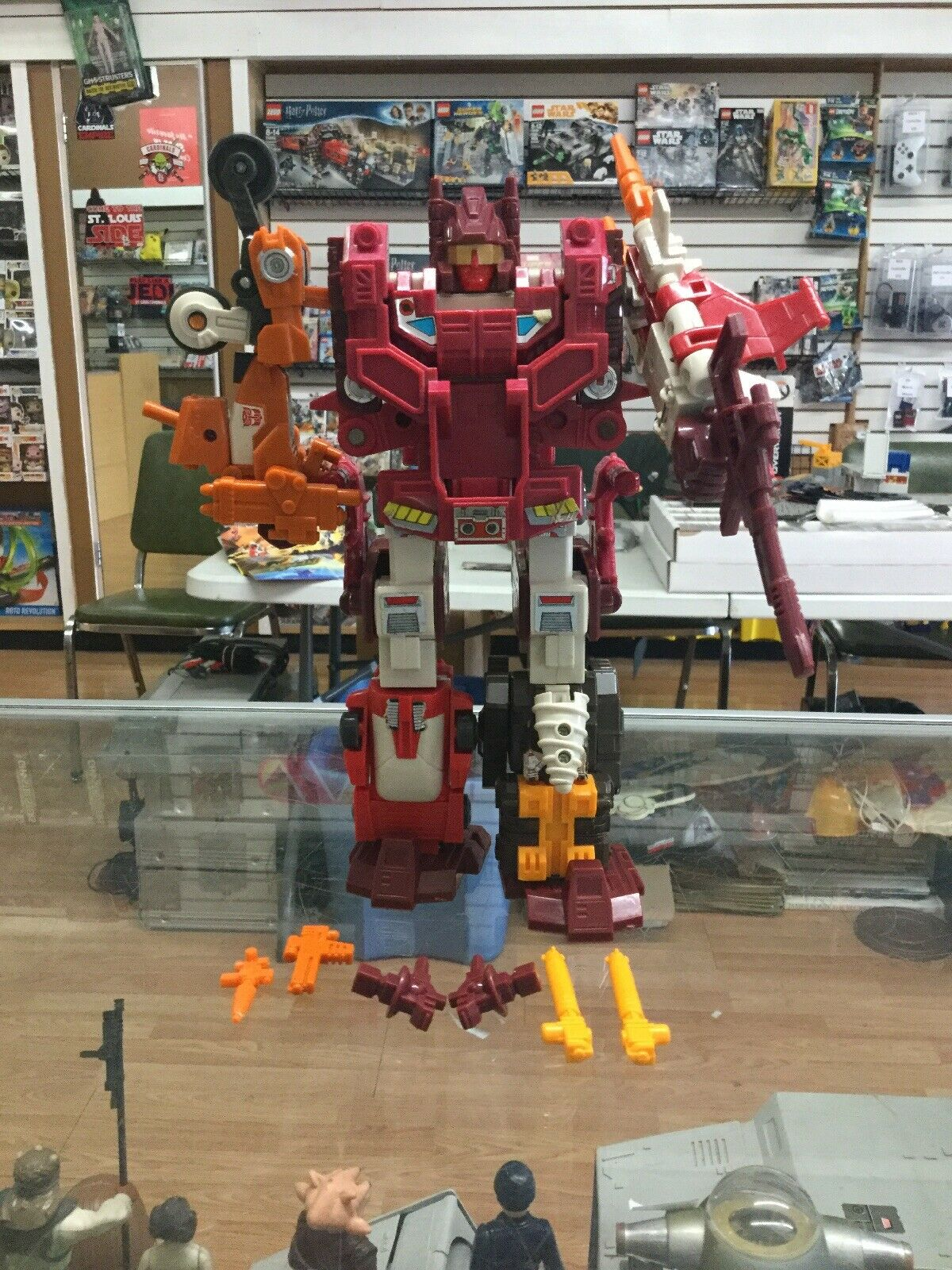 Computron Technobots Transformers G1 Vintage Action Figure