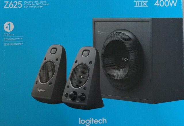 Logitech Z625 Powerful THX Sound 2.1 PC-Lautsprecher - Schwarz