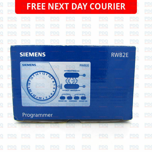 Siemens deux canaux programmeur 1 heures boost RWB2E-neuf sans lendemain p/&p