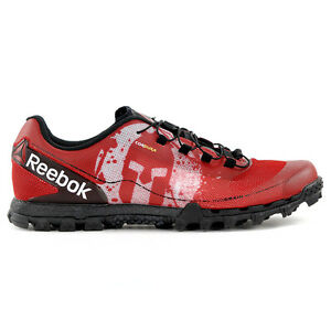 Reebok Men's All Terrain Super OR Spartan™ Red/Black Race Shoes BD1255 NEW!