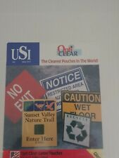 Usi Opti Clear Thermal Laminating Pouches 10mil Letter Size 9x115 25 Pack
