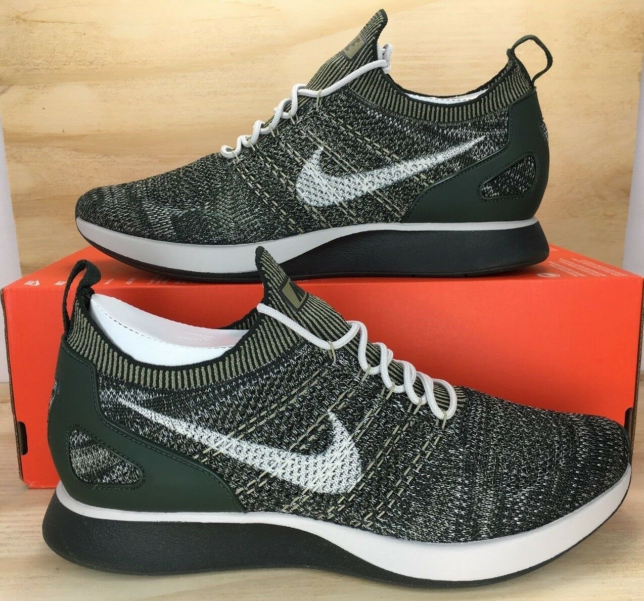 Nike Air Zoom Mariah Flyknit Racer Olive Green 918264 301 Men Size