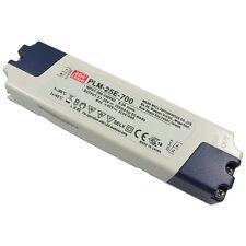 MEANWELL PLM-25E-700 25W LED-Schaltnetzteil 21V-36V 700mA Konstantstrom 856530