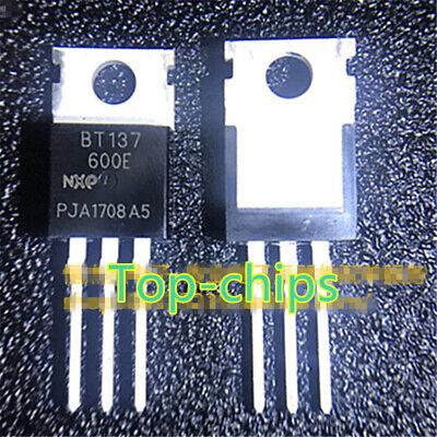 5 PCS BT137-600E TO220 BT137-600 Thyristor Product Catalog