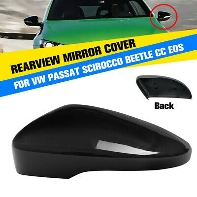 Right Passenger Side Door Wing Mirror Casing Cover Cap For VW EOS CC Scirocco