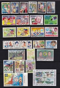Philippine 1989 Year set collection of 35 diff. values + Fiesta Island w/var. NH