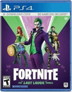 FORTNITE-THE-LAST-LAUGH-BUNDLE-Playstation-4-PS4-Brand-New-Sealed