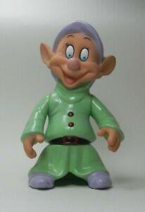 Walt-Disney-Snow-White-amp-7-Dwarfs-Plastic-Figure-Goofy-Free-Standing-Arms-Move