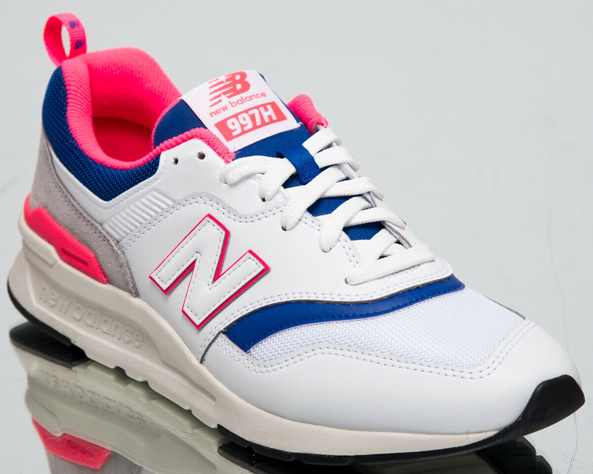 New Balance 997H Men's new White Laser bluee Casual Lifestyle Sneakers CM997-HAJ