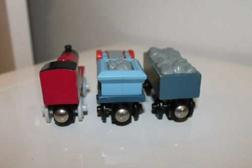 THOMAS the Tank /& FRIENDS TRAIN WOODEN RAILWAY Bill Ben Duck Fred Mike Toad Lory
