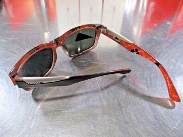 ff4770b1d9459 Bolle Jude Sunglasses Matte Black   Argyle Orange TNS 6 Base NEW