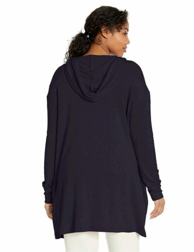Navy Daily Ritual Women/'s Supersoft Terry Hooded Size Medium Brand