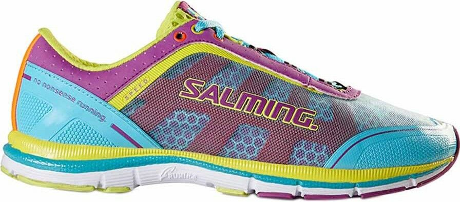 Salming Speed 3 Womens Running shoes Cushioned Ladies Trainers bluee Pink