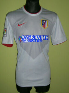 Details about Atletico Madrid Away 2014 - 2015 Football Shirt Size L Nike Excellent Jersey