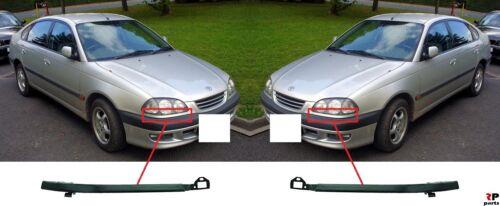 Para Toyota Avensis 97-99 nuevo conjunto de par Ajuste Faros de moldeo frontal para pintar