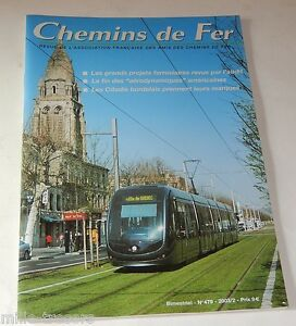 CHEMINS-de-FER-N-479-de-2003-Locomotives-diesel-et-autorails-Tramway-Metro