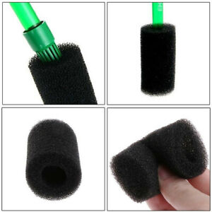 5xSponge-Aquarium-Filter-Protector-Cover-For-Fish-Tank-Inlet-Pond-Black-Foam-iv
