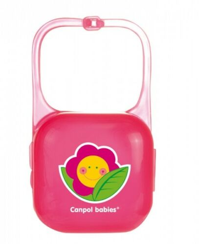Colorful Baby Soother Travel Box Pod Holder Great Container BPA Free 0m NEW