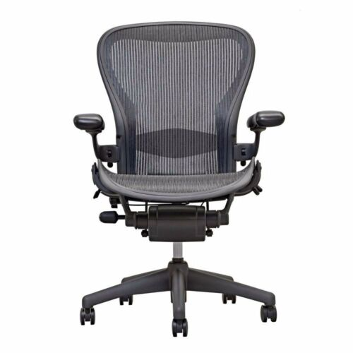 Herman Miller Aeron chair size B, all adjustable options w. lumbar support