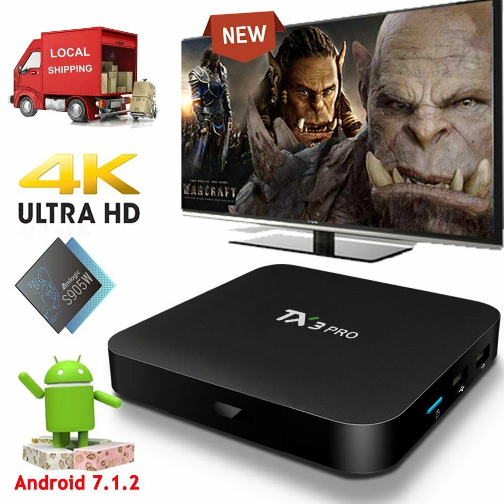 2019 TX3PRO Quad core S905W 4K Android 7.1.2  Nougat Smart TV BOX WIFI 4K Media Featured