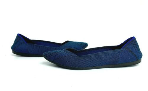 Rothys Teal Python Point Flats 9 Retired