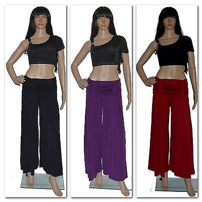 Appena Danza Del Ventre Pantaloni Belly Dancing Trousers Hip Scarf Carnevale Tribal Costume L-xl- Il Consumo Regolare Di Tè Migliora La Salute