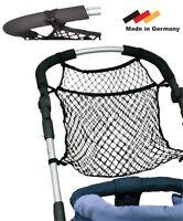 Kinderwagentasche Universal Einkaufs Anker Netz Für Kinderwagen Jogger Buggy Neu