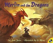 Merlin and the Dragons by Jane Yolen (1998, Paperback)