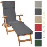 Deckchair Auflage Liegestuhl Gartenliege Liegenauflage Sonnenliege Liege Polster