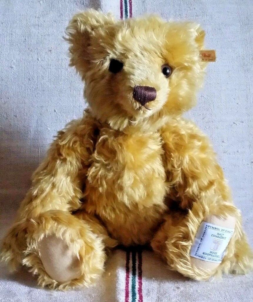 Steiff In Belgium an Auction Steiff Teddy Bear, in an edition of 50 pieces only