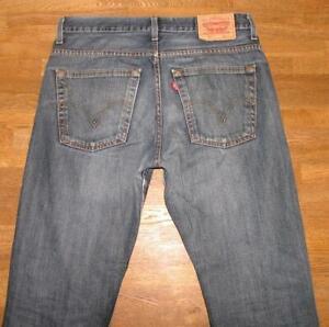 """Wow Levi `S 507 D' Homme Jeans / Levis Blue-Jeans en Bleu En Env. W33 """" / L32 """""""