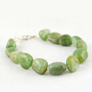Gemstone Best Quality 182.50 Cts Earth Mined Green Aquamarine Untreated Beads Bracelet Fine Jewelry