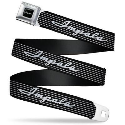 Chevrolet Impala Cintura Usa Seatbelt Style In Acciaio Inox Cintura Di Sicurezza Logo Chevy-t Logo Chevy It-it Mostra Il Titolo Originale