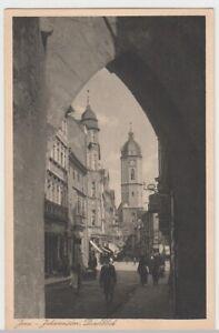 100669-AK-Jena-Johannistor-Durchblick-vor-1945