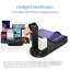 thumbnail 3 - 4IN1 Wireless Charger Stand Charging Dock Station For iPhone 13 Pro Apple Watch