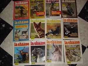 Lot-de-magazines-de-chasse-Revue-nationale-de-la-chasse-partie-1-1987-1989